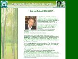 Le site du CENA Naturopathie et thérapies naturelles. Qui est Robert Masson ?