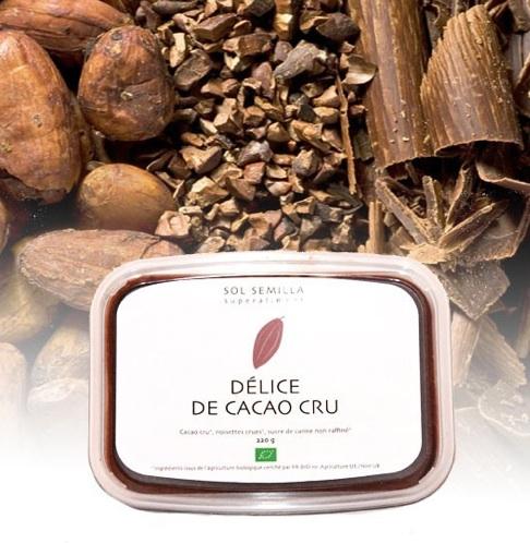 delice cacao cru